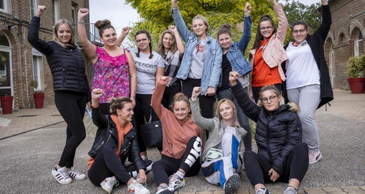 Pour ce quatrième jour d'itinérance, nous avons posé la caravane des médias dans la commune de Oisemont et nous avons rencontré une classe d'élèves de terminale à la Maison Familiale Rurale.