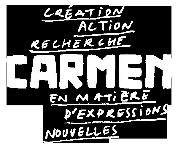 CARMEN logo blanc